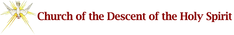 The Church of the Descent of the Holy Spirit Logo